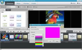 Wondershare DVDSlideshow Builder Deluxe 6.1 screenshot
