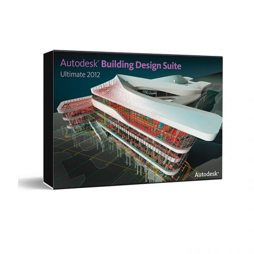 Autodesk Building Design Suite Ultimate 2012 R1 64-bit box
