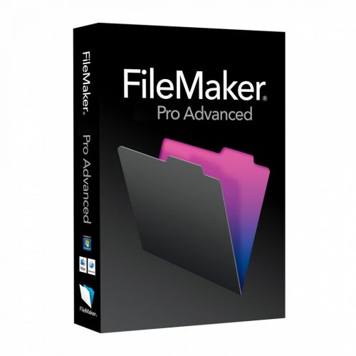 FileMaker Pro Advanced 13.0.3.231 for macOS box
