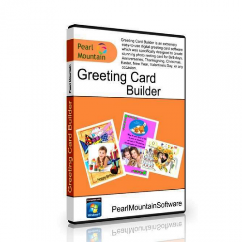 Pearl Mountain Greeting Card Builder 3.1.4 box