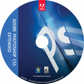 Adobe Photoshop CS5.1 Extended 12.1 European dvd