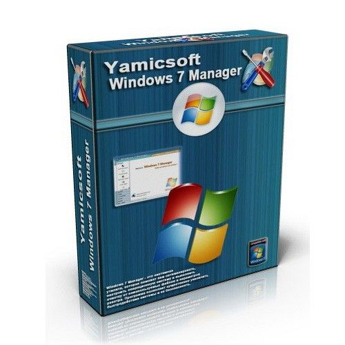 Yamicsoft Windows 7 Manager 5.1.9 box