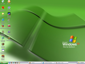 Microsoft Windows XP Home screenshot