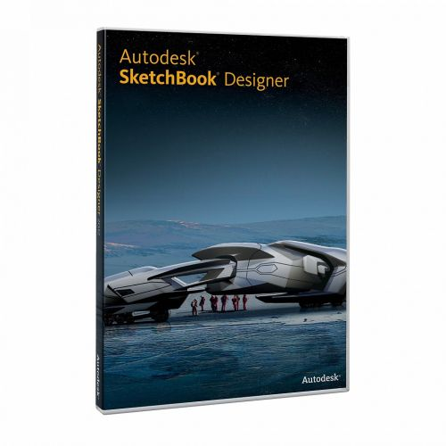 Autodesk Sketchbook Designer 2013 for macOS box