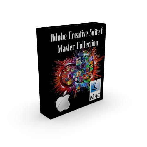 Adobe CS6 Creative Suite 6 Master Collection for Mac box