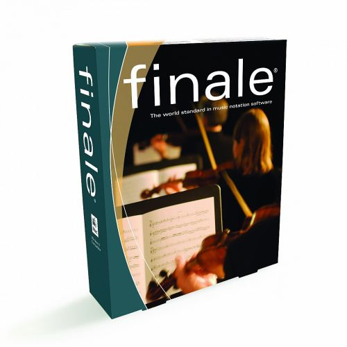 MakeMusic Finale 2012 R2 for macOS box