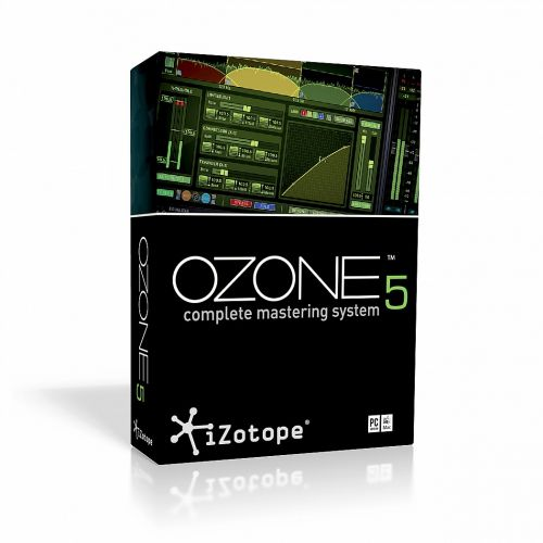 iZotope Ozone Advanced VST RTAS 5.0 box