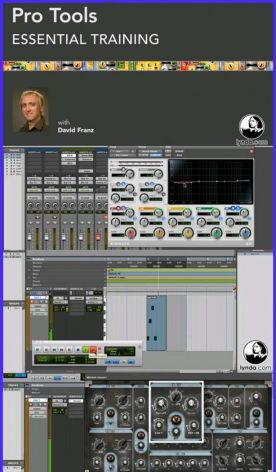 Lynda.com Pro Tools 10 Essential Training screenshot