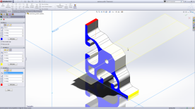 SolidWorks 2012 Premium Cap Colors in Sections