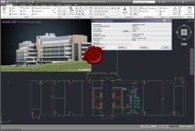 Autodesk AutoCAD Architecture 2013 x64 screenshot