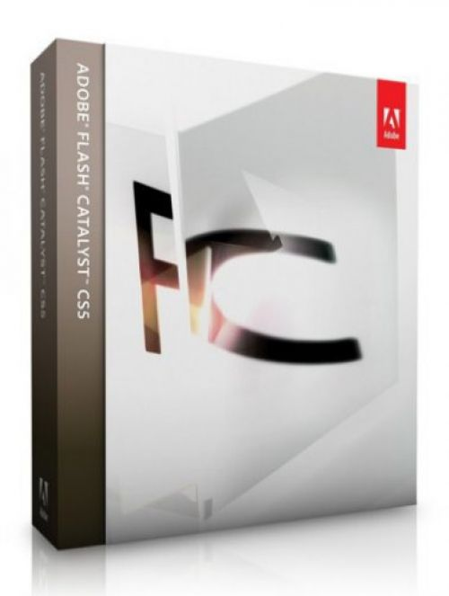Adobe Flash Catalyst CS5.5 Multilingual 1.5 box