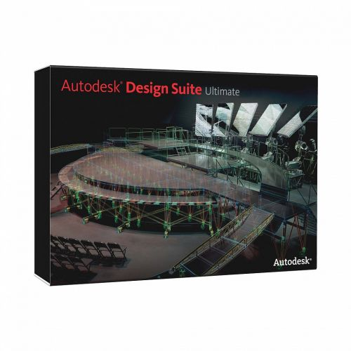 Autodesk AutoCAD Design Suite Ultimate 2014 x64 box