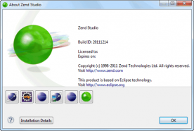 Zend Studio Pro Edition 9.0 screenshot