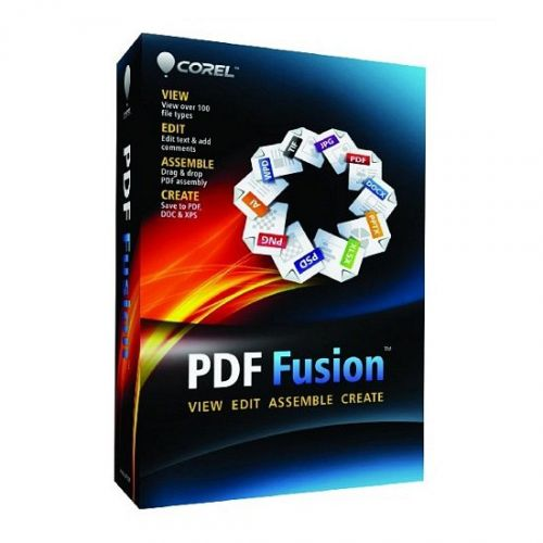 Corel PDF Fusion 1.14 box