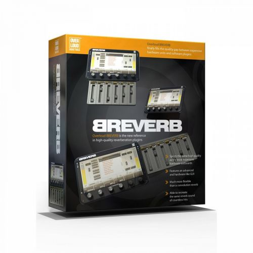 Overloud BREVERB 2 2.0 64-bit 32-bit for Windows for macOS box
