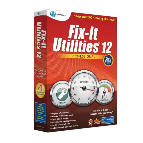 Avanquest Fix It Utilities Pro 12.0.38.28 box