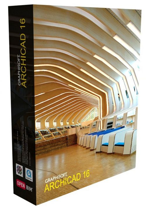 Graphisoft ArchiCAD International 16.0.3270 box