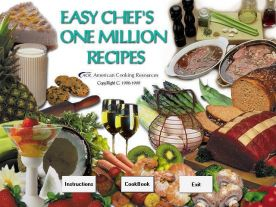 Easy Chef One Million Recipes screenshot