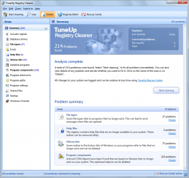 TuneUp Utilities 2012 12.0 screenshot