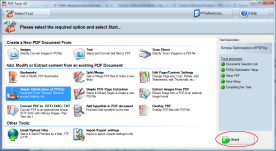 Tracker Software PDF-Tools 4.0 screenshot