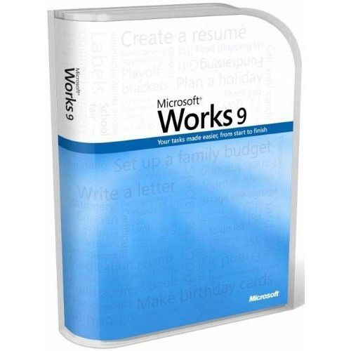 Microsoft Works 9.0 box