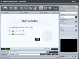 4Media DVD Ripper Ultimate 6.7 screenshot