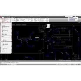 AutoCAD MEP 2012 screenshot