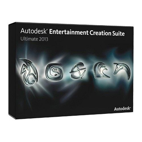 Autodesk Entertainment Creation Suite Ultimate 2016 64-bit box