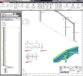 Autodesk AutoCAD Structural Detailing 2013 screenshot