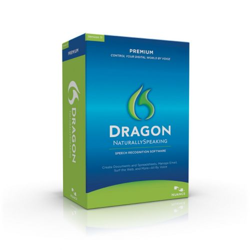 Nuance Dragon Naturally Speaking Premium 12.50.000.142 box