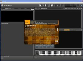 Native Instruments Kontakt 5.0 VSTi RTAS about window