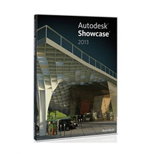 Autodesk Showcase Pro 2014 x64 box