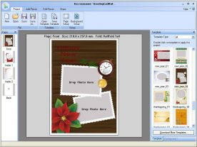 Pearl Mountain Greeting Card Builder 3.1 screenshot