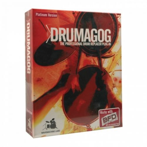 Wavemachine Labs Drumagog Platinum Library Addon 5.11 box
