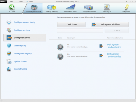 Magix PC Check And Tuning 2012 7.0 screenshot