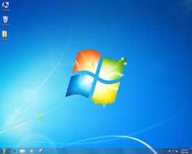 Microsoft Windows 7 Ultimate screenshot