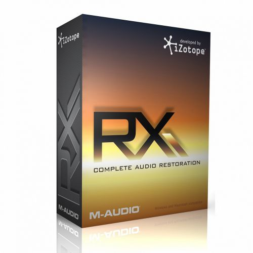 iZotope RX Advanced VST AS RTAS MAS AU 2.02 for macOS box