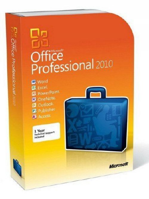 Microsoft Office 2010 VL Edition box