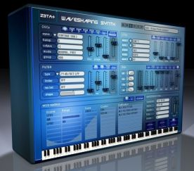 Cakewalk Z3TA Plus Waveshaping Synthesizer 2.1 screenshot