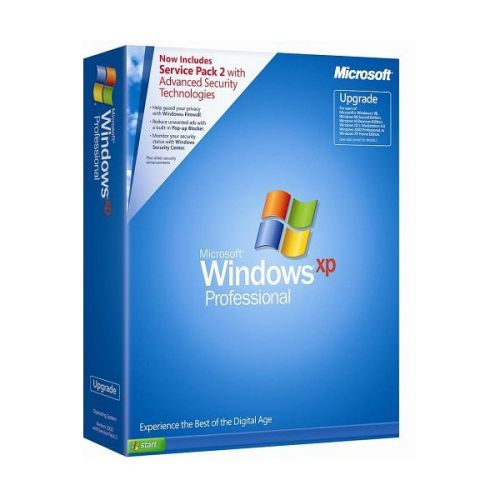 Microsoft Windows XP Pro Corporate with SP2 Feb 2007 box