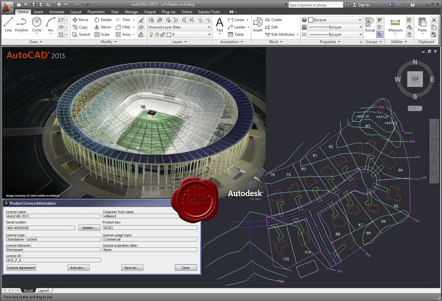 autocad 2012 keygen/crack 32 bit & 64 bit free download