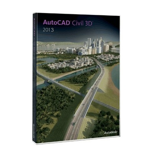 Autodesk AutoCAD Civil 3D 2009 (3 dvds)