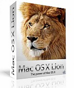 Apple Mac OS X Lion 10.7.4 for Mac box