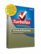Intuit TurboTax Home and Business 2012 box