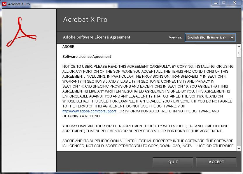 adobe acrobat x pro 10 free download full version