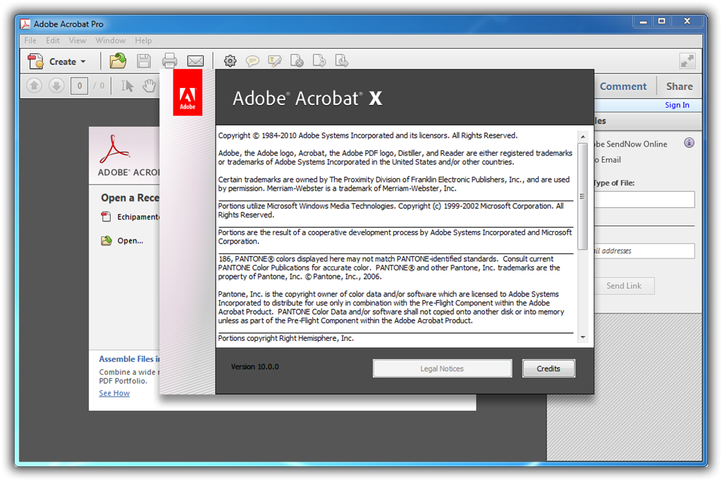 serial number for adobe acrobat x pro 10