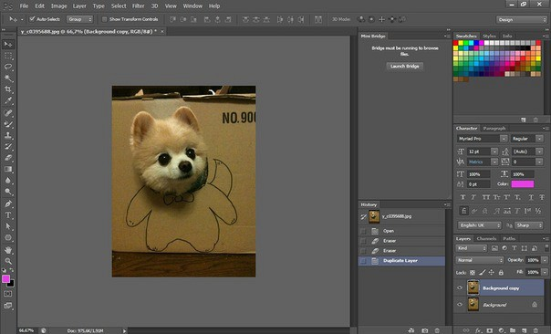 Moreover, CS6 also modified its performance by adding the new Adobe Mercury  Graphics Engine than integrates well known editing tools such as Puppet  Warp, ...
