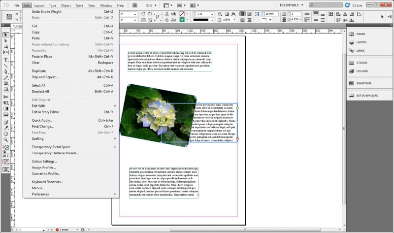 Buy Adobe Indesign Cs5 5 7 5 Download For Windows    Down