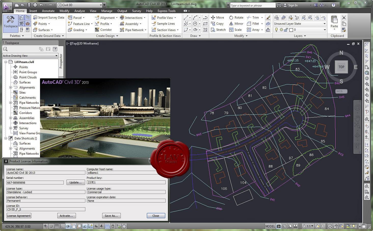 buy autodesk autocad civil 3d 2014 64 bit download for windows down cd download service 4. Black Bedroom Furniture Sets. Home Design Ideas