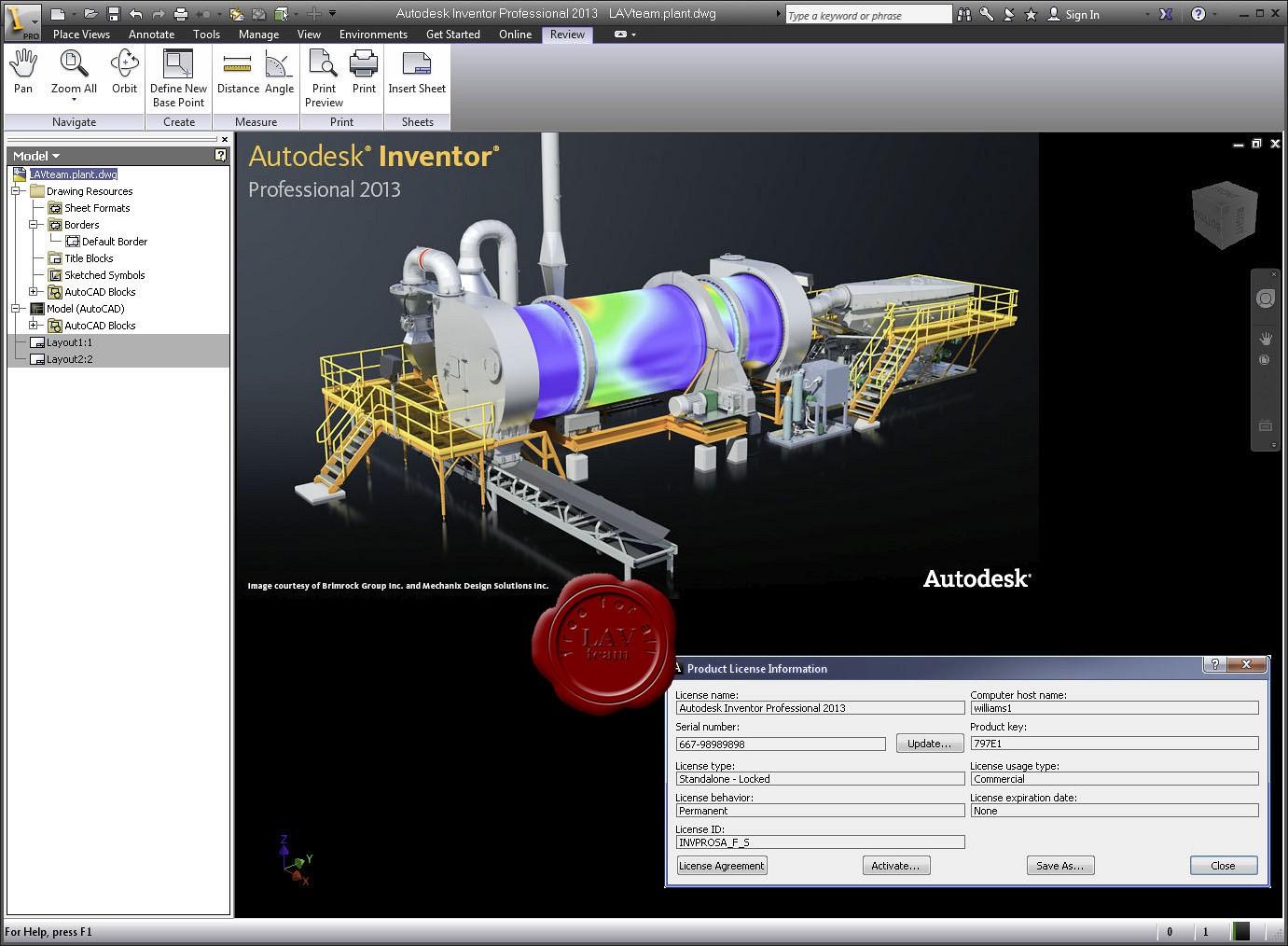Buy Autodesk Inventor Pro 2013 64-bit download for Windows